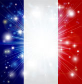 French flag background — Stock Vector
