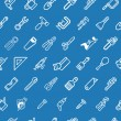 Tilable tools background texture - Stok Vektr