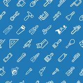 Tilable tools achtergrondstructuur — Stockvector