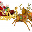 Royalty-Free Stock Vector Image: Santa Christmas Sled