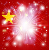 Chinese flag background — Stock Vector