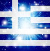 Greek flag background — Stock Vector