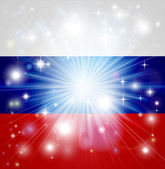 Russian flag background — Stock Vector