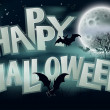 Stock vektor: Happy Halloween Background