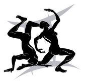 Segno di astrologia oroscopo zodiaco gemini — Vettoriale Stock