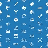 Seamless sport background texture — Stock Vector