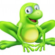 Royalty-Free Stock Vector Image: Frog mascot