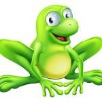 Frog mascot — Stock Vector #20950985