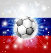 ロシア サッカー フラグ — ストックベクタ