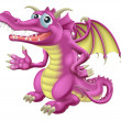 Cute Dragon — Stock Vector #22499111