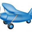 Cute little plane — Stock Vector #22860046