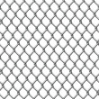 Wire fence seamless tile - Stock Vector