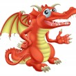 Red Dragon — Stock Vector #24813705