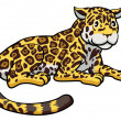 Cartoon Jaguar Cat — Stock Vector #28113475