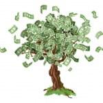 Money savings tree — Stock Vector #28330143