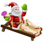 ������, ������: Summer Santa