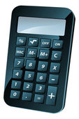 Calculator Illustration — Stock Vector