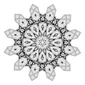 Arabian floral pattern motif — Stock Vector