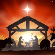 Christmas Nativity Scene — Stock Vector #31939875