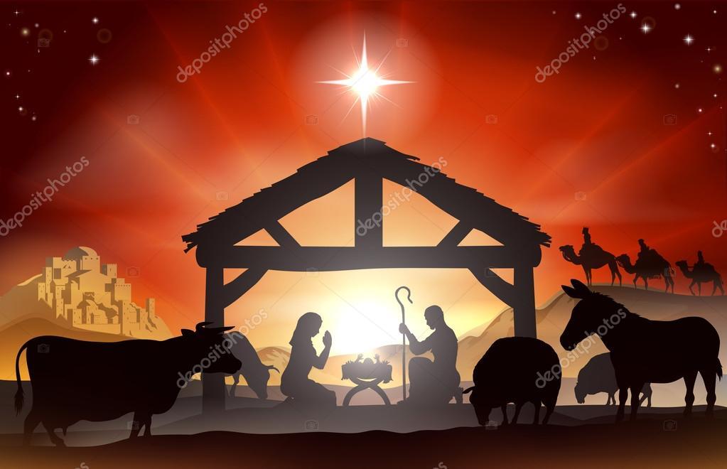 Christmas Nativity Scene â€