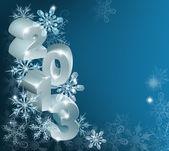 Weihnachten 2013 schneeflocken hintergrund — Stockvektor