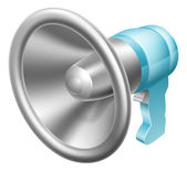Megaphone or bullhorn — Stock Vector
