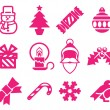 Christmas icon set — Stock Vector #38760177
