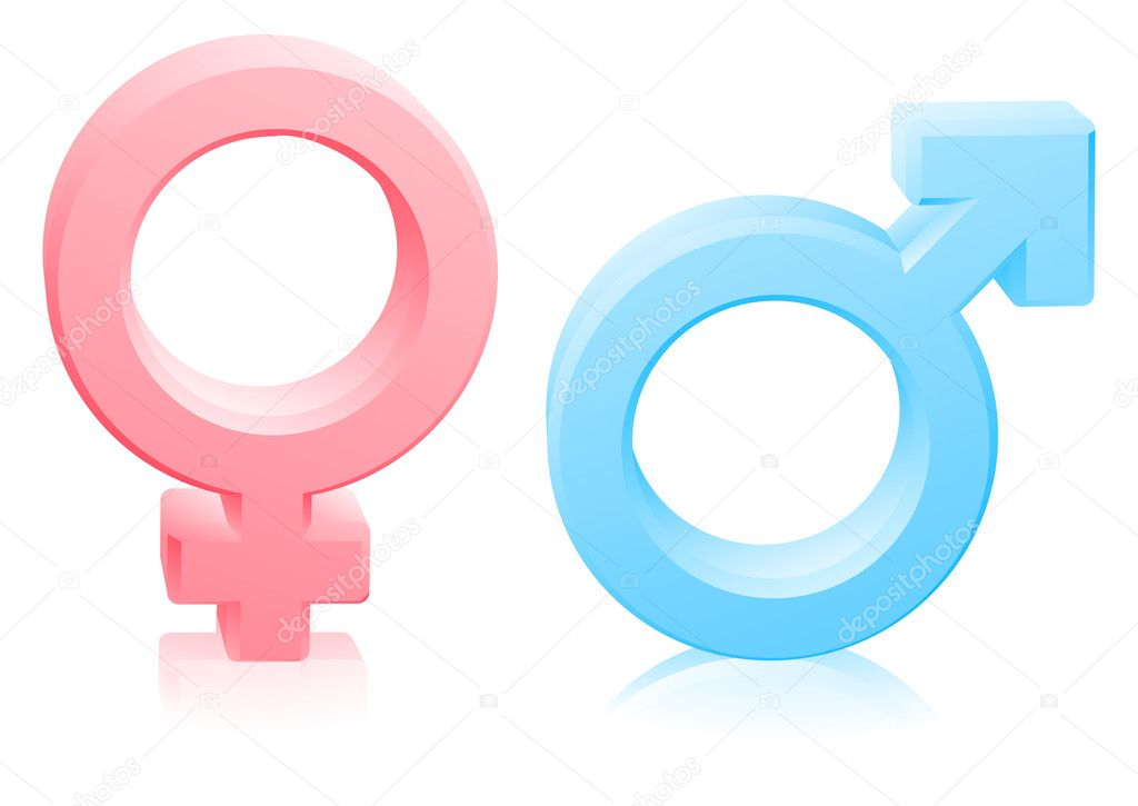 69 Mann und Frau Geschlecht