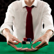 Playing poker — Stock Photo #19716413