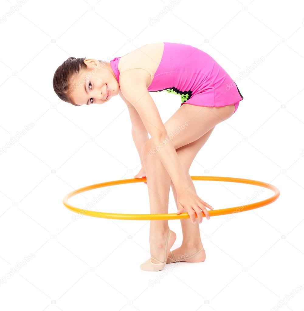 Русские маленькие гимнастки 28 фотография