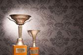 Vintage trophies — Stock Photo