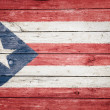 Stock Photo: Puerto ricflag