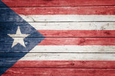 Puerto rican flag — Stock Photo
