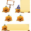 Halloween Pumpkin Set — Stock Vector #30955923