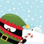 Elf Pingwin — Wektor stockowy  #33755633