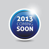 2013 coming soon — Stock Vector