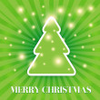 Merry Christmas tree - Stock Vector