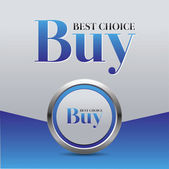 Best choice buy — Stock Vector