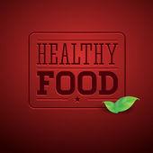 Hälsosam mat grön — Stockvektor