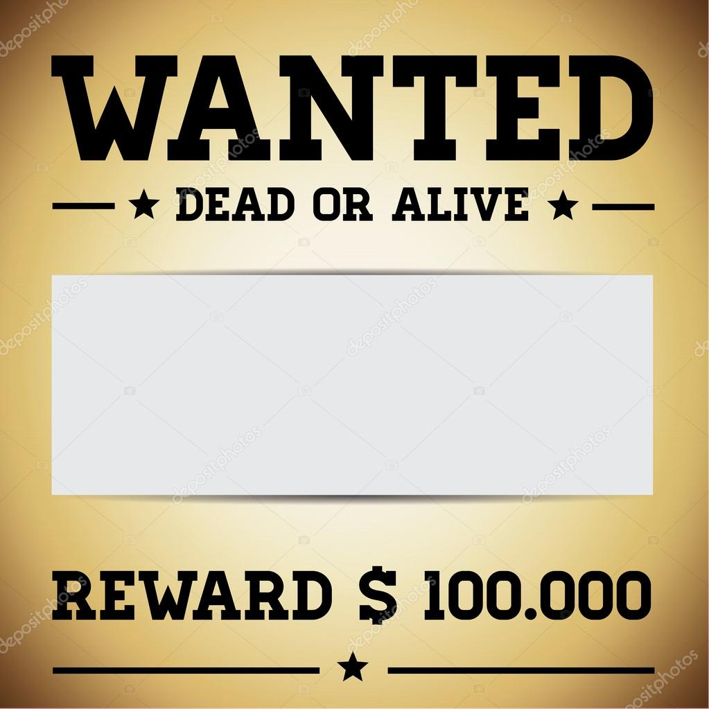 Most wanted templates powerpoint