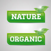 Natur bio-taste — Stockvektor
