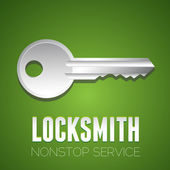 Locksmith nonstop service — Stock Vector