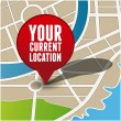 Your current location pointer — Stock Vector #21313657
