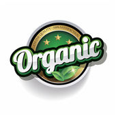 Sto procent vektorové organické popisek — Stock vektor