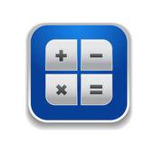 計算機アイコン - ベクトル アプリ ボタン — ストックベクタ