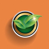 Vector leaves concept — Stock Vector