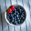 Strawberries and blueberries — Stock Photo #31052855