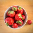 Beautiful fresh strawberries — Stock Photo