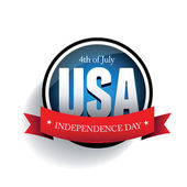 Independence day Usa — Stock Vector