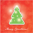 Stock Vector: Merry Christmas lettering
